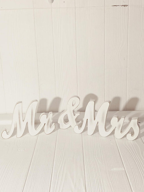 Mr. & Mrs Signs