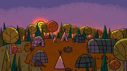 W1 Turtle Island Village Sunset