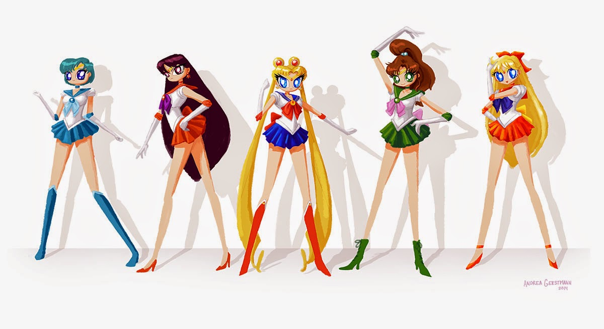 AG sailor moon flat