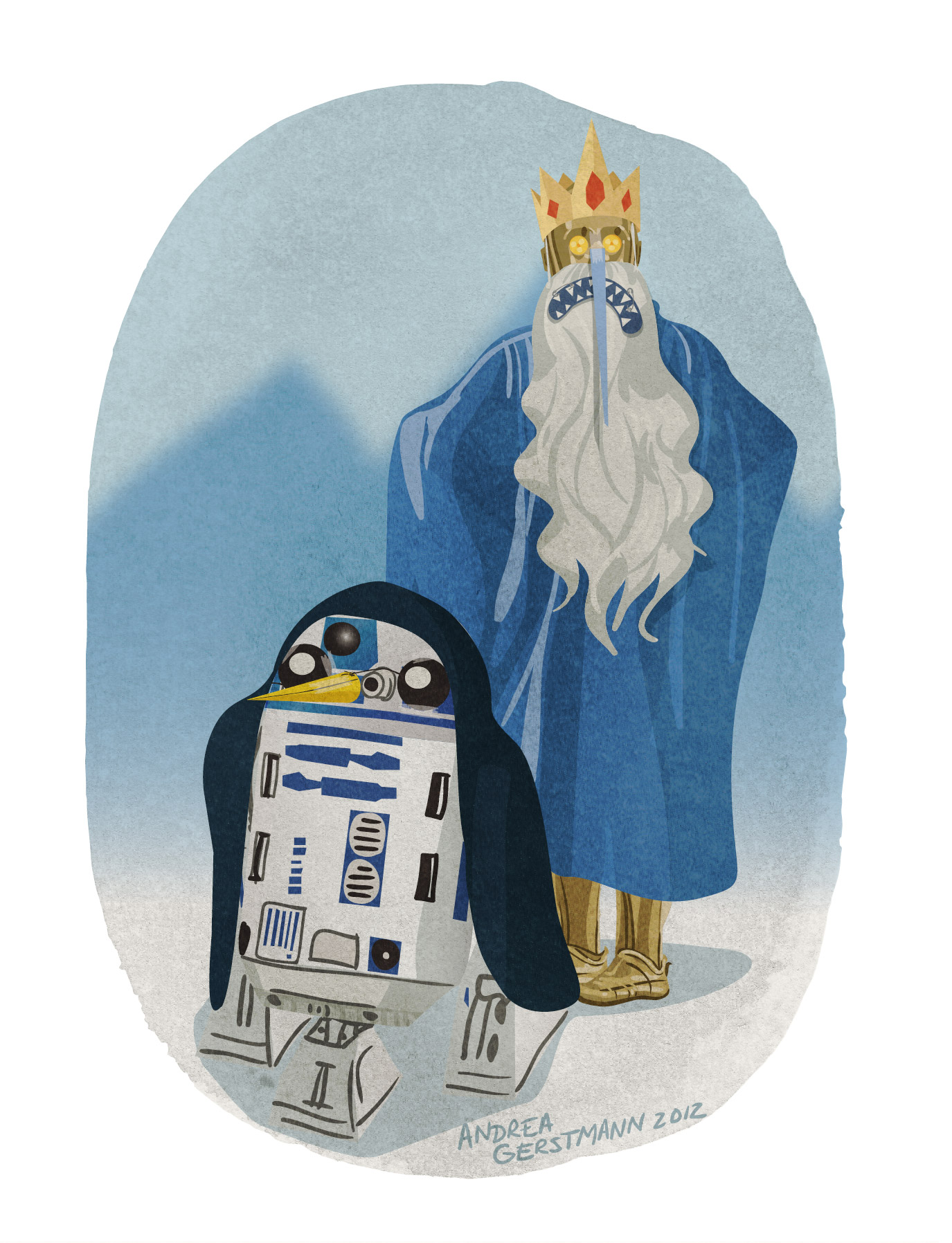 ice king + gunther