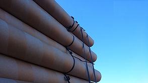 Perfect carpet tubes