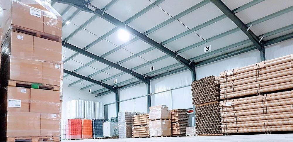 Carpet cores & Industrial tubes