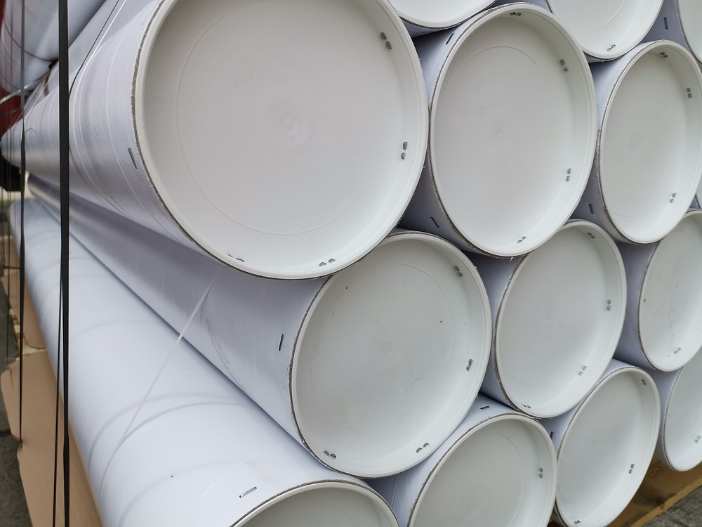 postal tubes and stainless steel cardboard tubes
