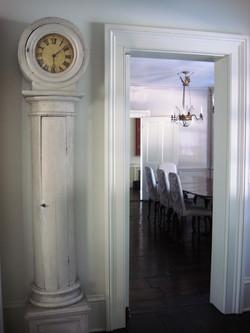 Swedish clock interior