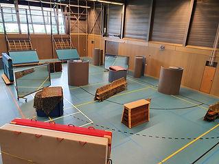 sportzaal lasergame