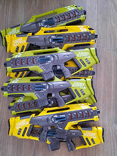 Lasergamen - Bedrijfsuitje - Laserguns