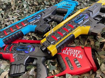 Lasergame - laserguns assortiment