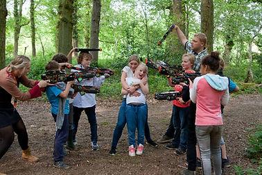 Lasergameverhuur Groningen - kinderfeestje