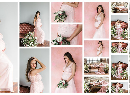 Floral Maternity Session