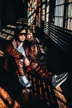 Male Fashion Tiger Print Moody Dayton Oh