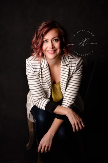 Woman Brand Portrait Business Power Suit