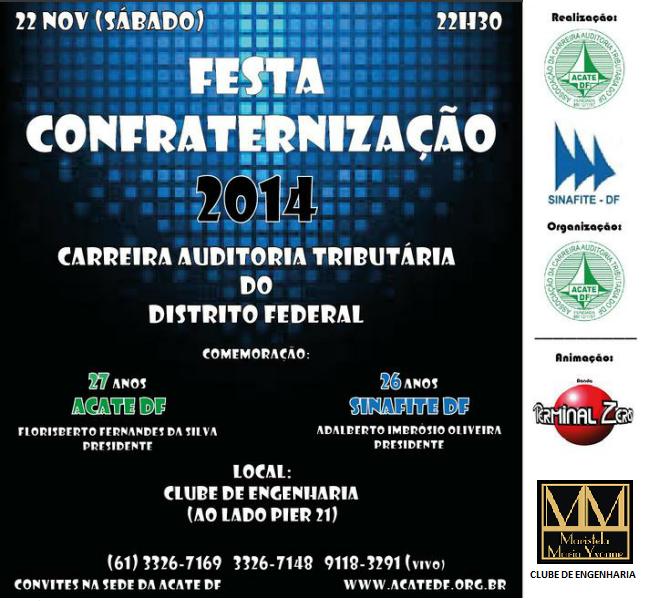 FLYER CONFRATERNIZAÇÃO 2014