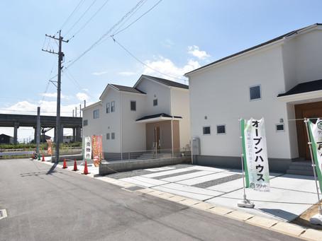 【新築戸建 南区富合町オープンハウス開催♪8月29(土)30(日)11時~17時】