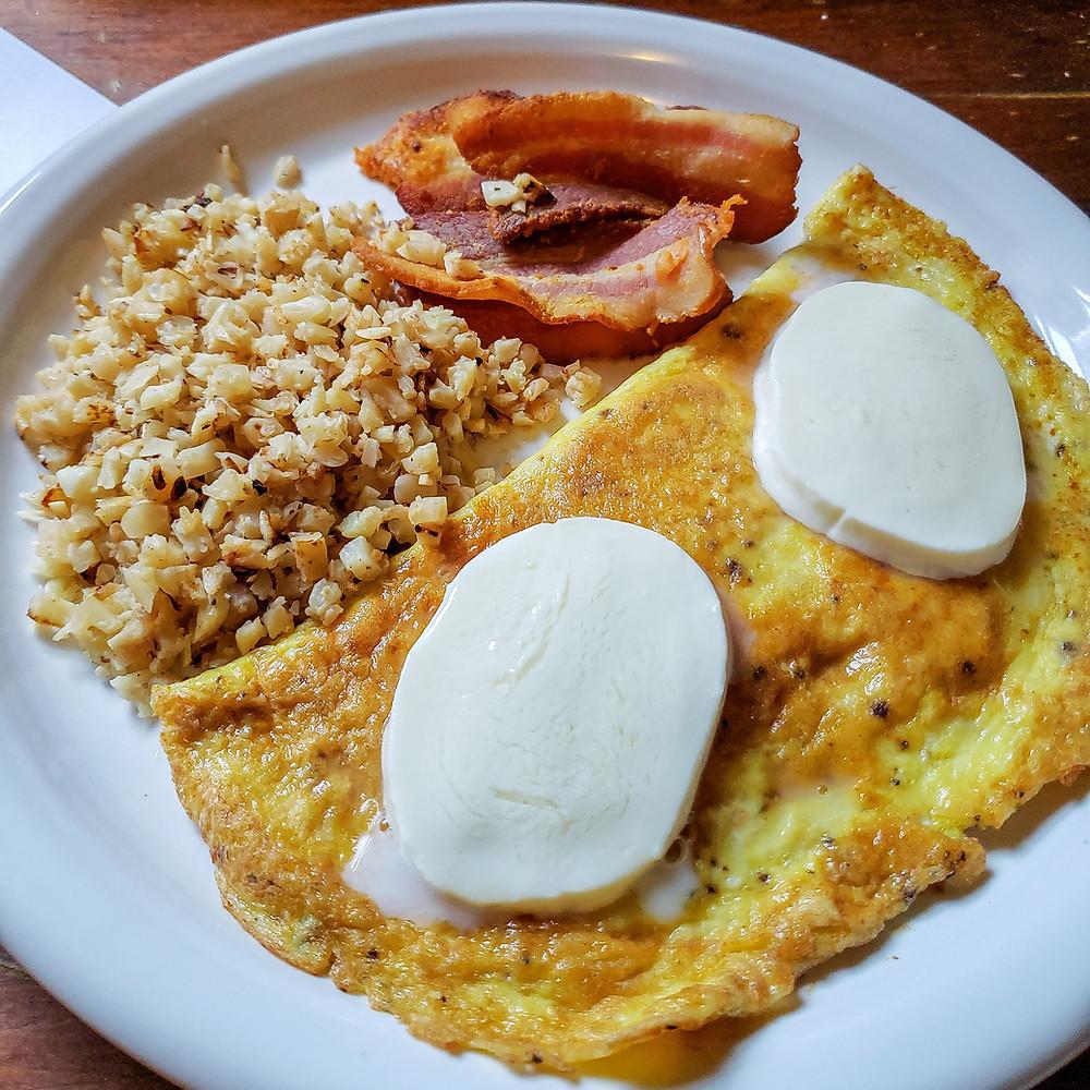 Keto Breakfast for Dinner