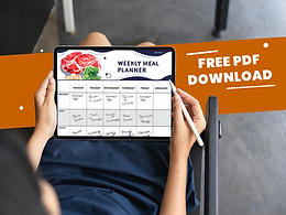 Weekly Simple Meal Planner for 2021 [FREE DOWNLOAD]