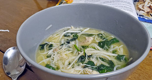 """The Low Carb Chicken """"Noodle"""" Soup You Need This Winter, Binakol"""
