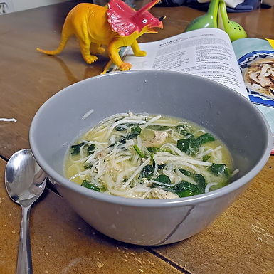"The Low Carb Chicken ""Noodle"" Soup You Need This Winter, Binakol"