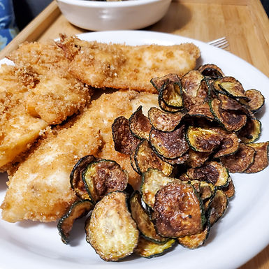 Low Carb Fish and Chips