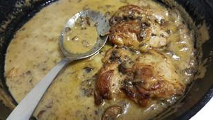 Low Carb Mushroom Chicken