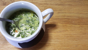 Low Carb Spinach Soup