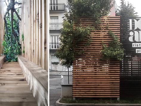 Alessandro Bellini ha partecipato alla realizzazione del totem per DomArt