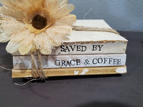 Saved by coffee & grace