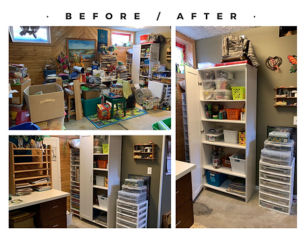 Crafting Room Makeover