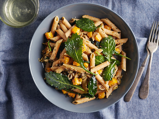 Squash Season is Here! Celebrate with This Gorgeous Autumn Pasta