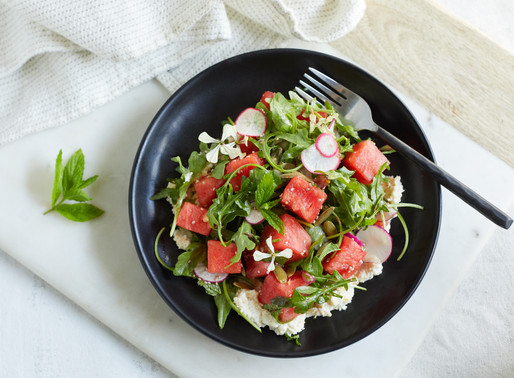 This Watermelon-Arugula Salad is Basically Summer, Served