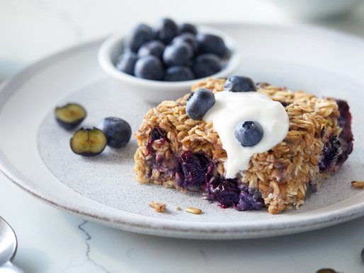Better Your Breakfast Regimen With This Blueberry Baked Oatmeal