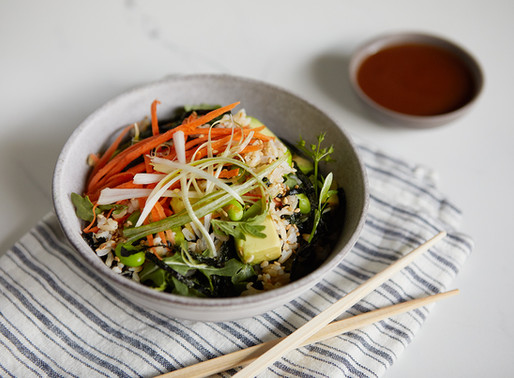 Satisfy Your Sushi Cravings with this Healthy Bowl Recipe
