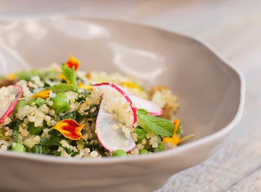 Step Into Spring With This Stunning Quinoa Bowl