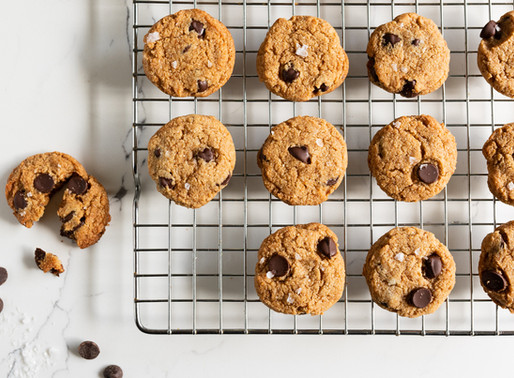 Cooking for Comfort: Salted Chocolate Chip Cookies
