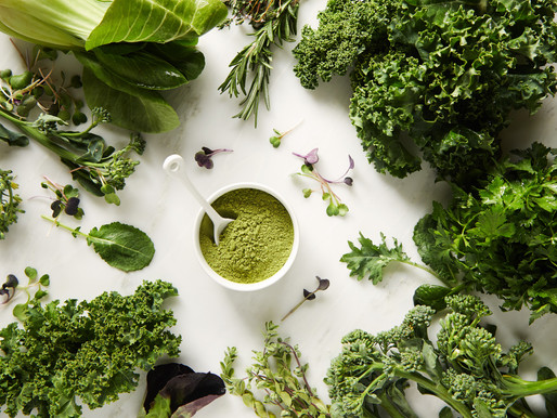What makes green vegetables so healing?