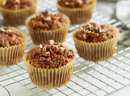 These Loaded Cinnamon-Carrot Muffins are a Healthy Baker's Dream-Come-True