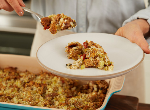 Here's The Superfood Stuffing We Look Forward To All Year Long