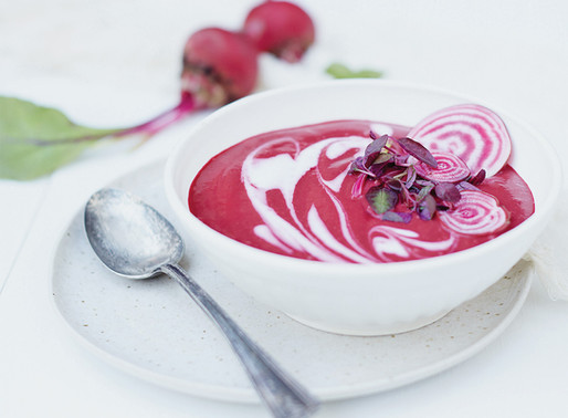 Get Your Soup Fix With This Cumin-Beet Soup