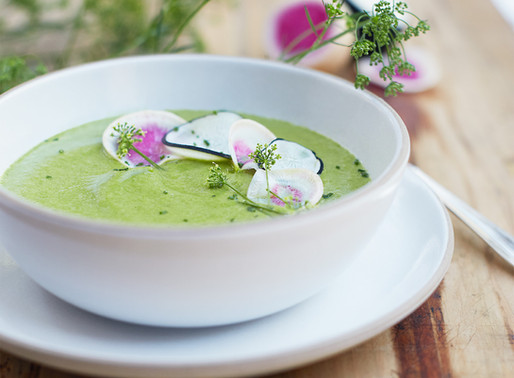 Many Greens Soup (Because Really, Can You Ever Have Too Many?)