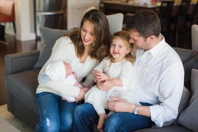 Newborn photography east oaks photograph