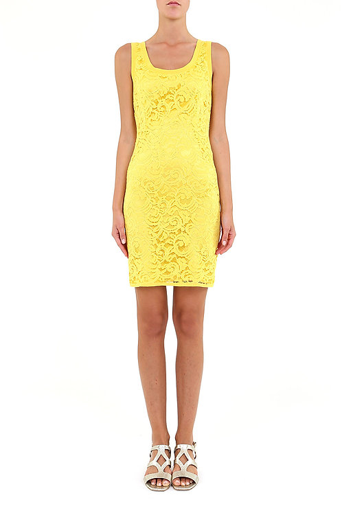 ALBERTA FERRETTI Lace Mini Dress