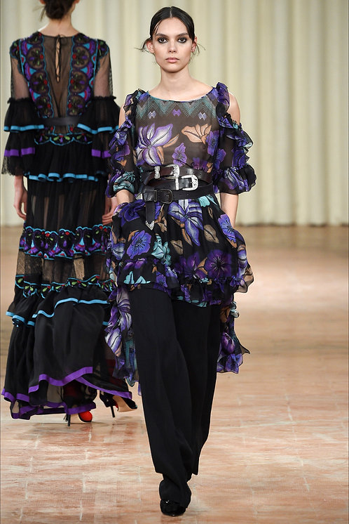 Alberta Ferretti Fashion Show Look11