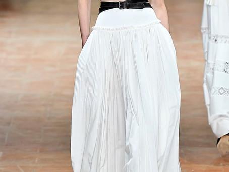 Alberta Ferretti Maxi Skirt SS17