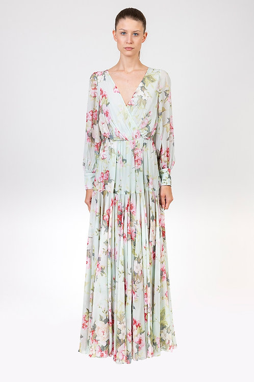 INGIE PARIS Flower print gown