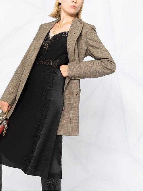 ALBERTA FERRETTI Slip dress with lace