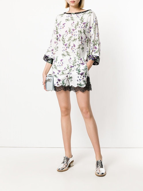 BLUMARINE Blouse with flowers
