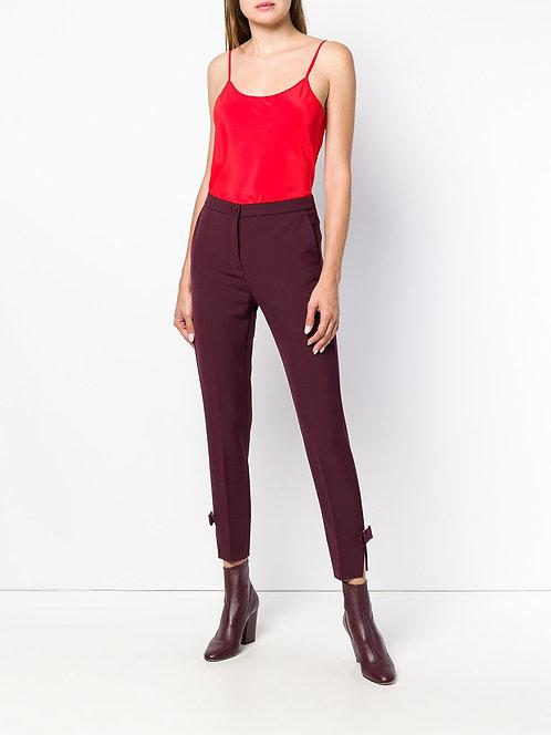 silk top red blumarine fall winter 2018-19 shop online