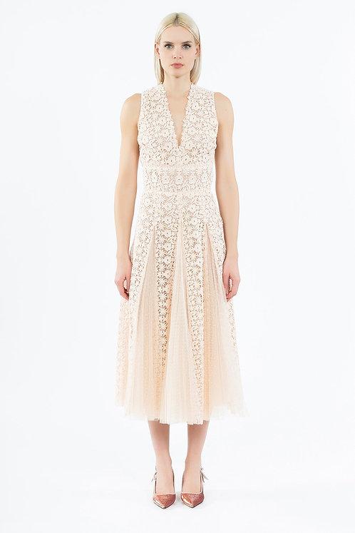 INGIE PARIS Macrame dress