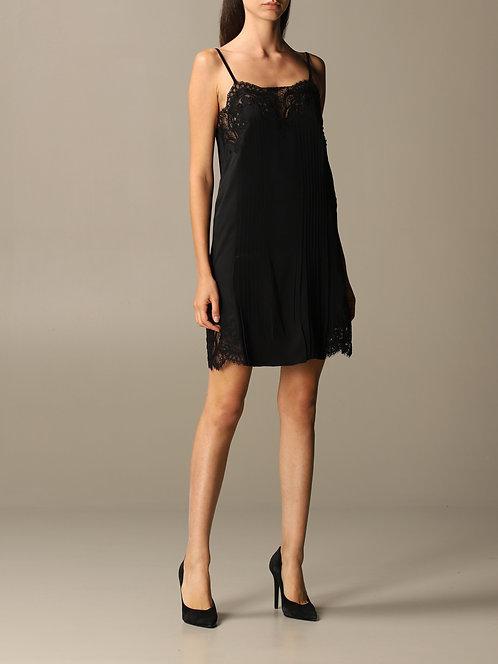 BLUMARINE Slip pleated dress
