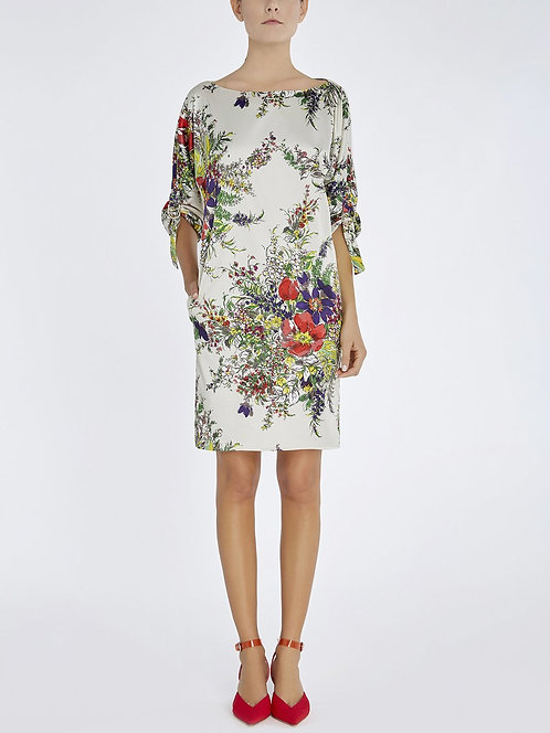 BLUMARINE Floral-print sheath dress