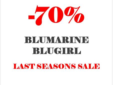 -70% LAST SEASONS SALE - BLUMARINE & BLUGIRL